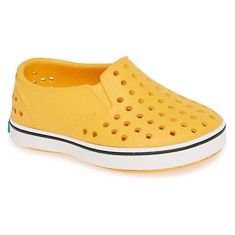 Kids Native Girls Miles Rubber Low Top Slip On Water Shoes