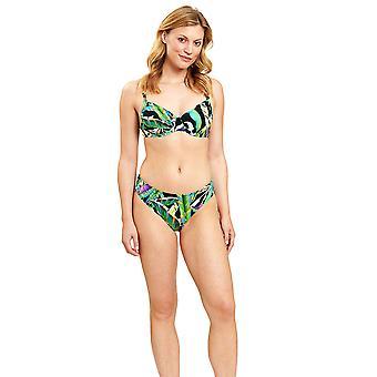 Féraud 3205020-16072 Frauen's Dschungel grün nicht gepolstert unterverdrahtet Bikini Set