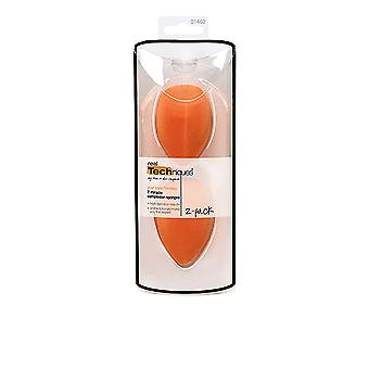 Real Techniques Miracle Complexion Sponge Pack Duo For Women