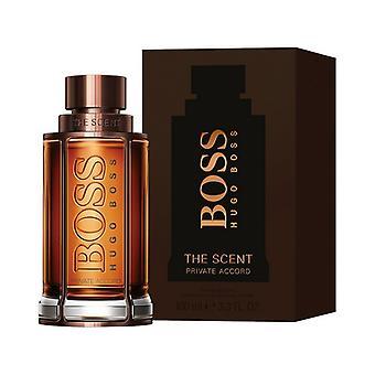 Men's Perfume The Scent Private Accord Hugo Boss EDT (100 ml)