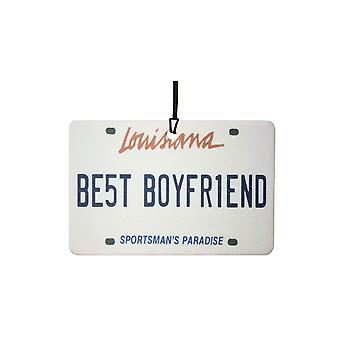 Louisiana - najlepszy chłopak tablic rejestracyjnych samochodów odświeżacz powietrza