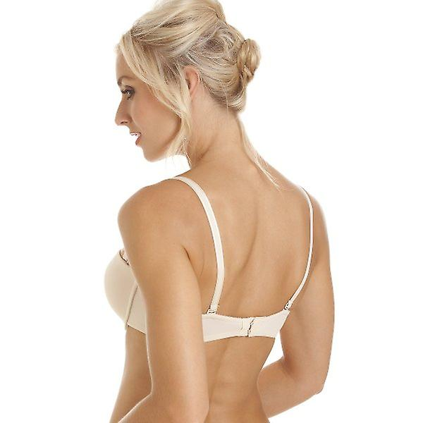 Camille Camille Womens Beige Bandeau Cup T-Shirt Multiway Bra