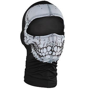 Zan hoofddeksels Nylon Balaclava - Skull