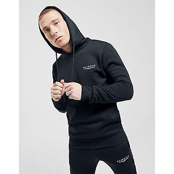 New McKenzie Men's Essential Overhead Hoodie Black