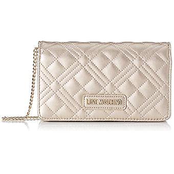 Love Moschino Jc4093pp1st Women's Gold Bag (Gold) 4x11x18cm (W x H x L)