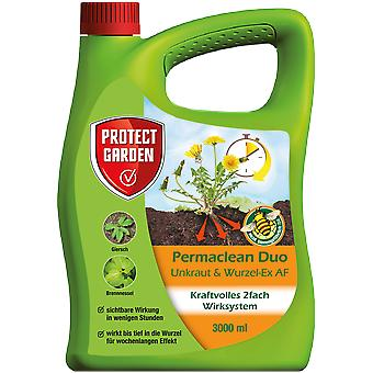 SBM Protect Garden Permaclean Duo Weed & Root-Ex AF, 3000 ml