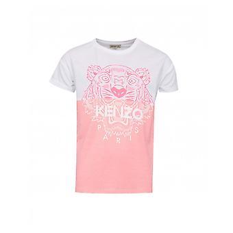 Kenzo Kids Vertical Logo Jersey T-shirt