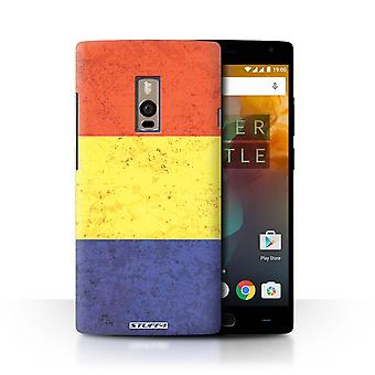 STUFF4 Case/Cover for OnePlus 2/Two/Romania/Romanian/Flags