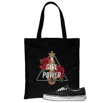 Girl Power Leopard Urban Style Canvas Bag