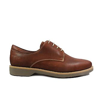 Anatomic Delta Brown Waxy Leather Mens Lace Up Shoes