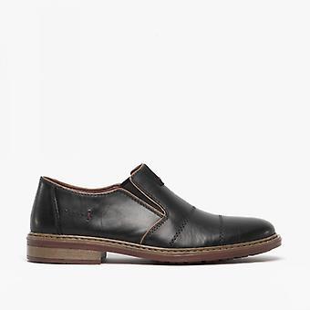 ريكر 17661-00 رجال زلة على أحذية سوداء