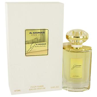 Al Haramain Junoon Eau De Parfum Spray av Al-Haramain 2,5 oz Eau De Parfum Spray