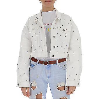 Ireneisgood Igcdj002120 Veste white Cotton Outerwear