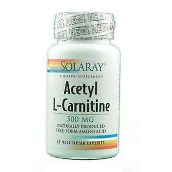 Solaray Acetyl L-Carnitine 500 mg 30 Capsules