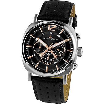Jacques Lemans - Wristwatch - Men - Lugano - Sport - 1-1645.1J