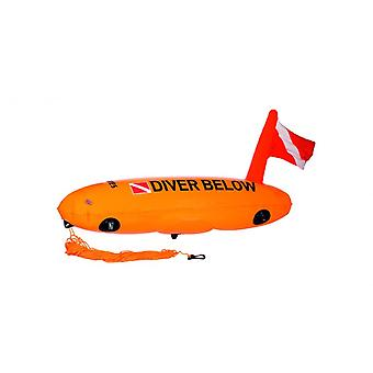 Mares Diver sotto sicurezza Boa Torpedo - Orange