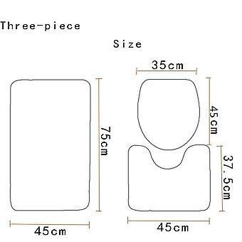 Toiletmat 3PC