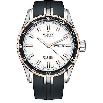 Edox - Wristwatch - Men - Grand Ocean - Day/Date Automatic - 88002 357RCA AIR