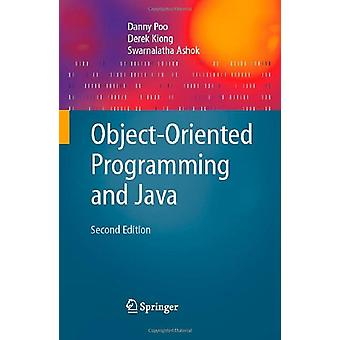 Object-Oriented Programming and Java by Danny Poo - 9781846289620 Book