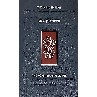 Koren Shalem Siddur with Tabs - Compact by Jonathan Sacks - 978965301
