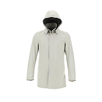 Herno Im038ul111011300 Men's White Nylon Outerwear Jacket
