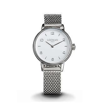 LOCMAN - Wristwatch - Ladies - 0253A08A-00WHNK2B0 - 1960 LADY ONLY TIME QUARTZ