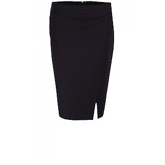 Taifun Navy Knee Length Skirt