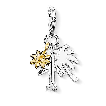 Thomas Sabo Palm Tree, Sun & Plane Charm