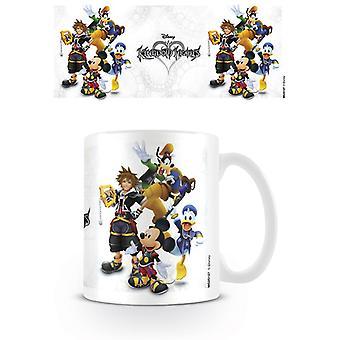 Kubek grupy Kingdom Hearts