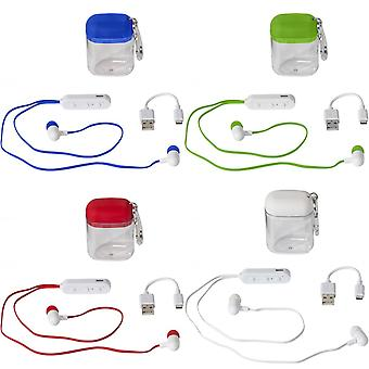 Bullet Budget Bluetooth Earbuds In Carabiner Case