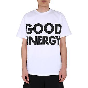 Moschino 071570401001 Herren's weiße Baumwolle T-shirt