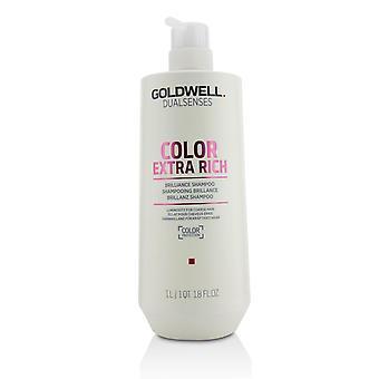 Dual senses color extra rich brilliance shampoo (luminosity for coarse hair) 215440 1000ml/33.8oz