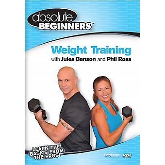Absolute Beginners Fitness: Weight Training [DVD] USA import
