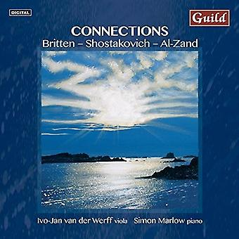 Britten / Werff, Ivo-Jan Der / Marlow, Simon - Connections - Music for Viola & Piano [CD] USA import