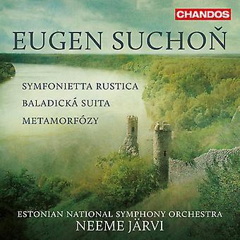 Eugen Suchon - Symphonietta Rustica. Metamorphoses [CD] USA import