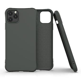 For iPhone 11 Pro Case Solid Slim Case Protective Cover Dark Green