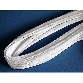 10 White 9mm Chunky Extra Long 50cmPipe Cleaners | Chenille Stems