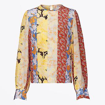 Stine Goya - Chemisier en soie Karolina - Papier peint floral