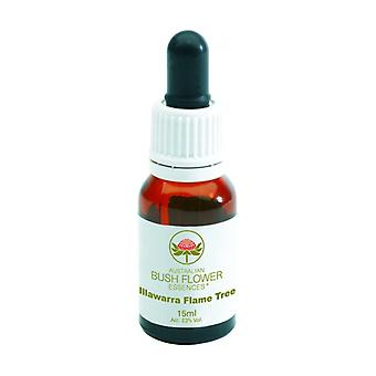 Floral Elixir Illawarra Flame Tree 15 ml of floral elixir