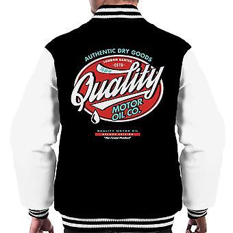 London Banter Qualität Motor Öl Männer's Varsity Jacke