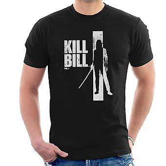 Kill Bill Beatrix Silhouette Men's T-Shirt