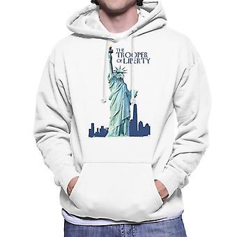 Original Stormtrooper The Trooper Of Liberty Parody Men's Hooded Sweatshirt