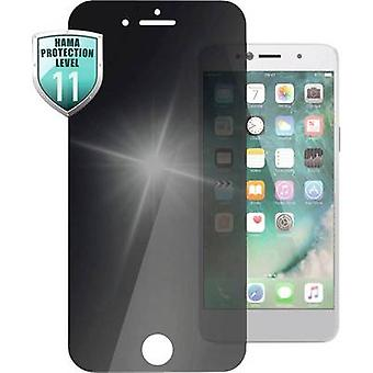 Hama Privacy Glass Bildschirmschutz Kompatibel mit: Apple iPhone SE (2. Generation), Apple iPhone 6.7.8 1 pc(s)