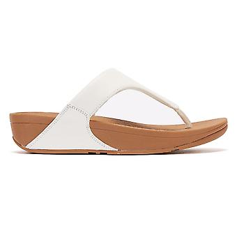 FitFlop Lulu Cuir Femmes Sandales blanches