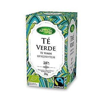 Artemis Green Tea Infuusio Bio 20 yksikköä