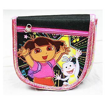 String Wallet Dora the Explorer w/ Boots Black Gift Licensed de21480