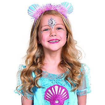 Nixe headband for kids mermaid accessory glitter glitter hair accessories