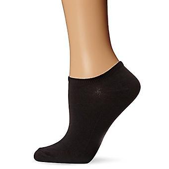 Hue Women-apos;s 6-Pack Microfiber Liner Socks, Noir, One Size