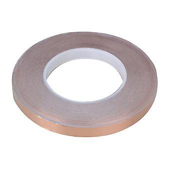 Bande de papier d'aluminium conducteur simple 5000X1.2cm Brun