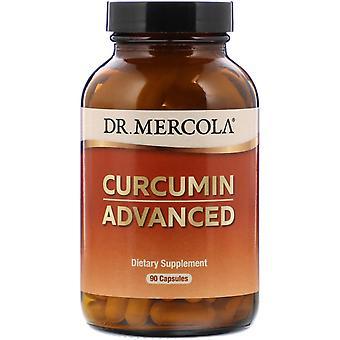 Dr. Mercola, Curcumin Avancerat, 90 kapslar